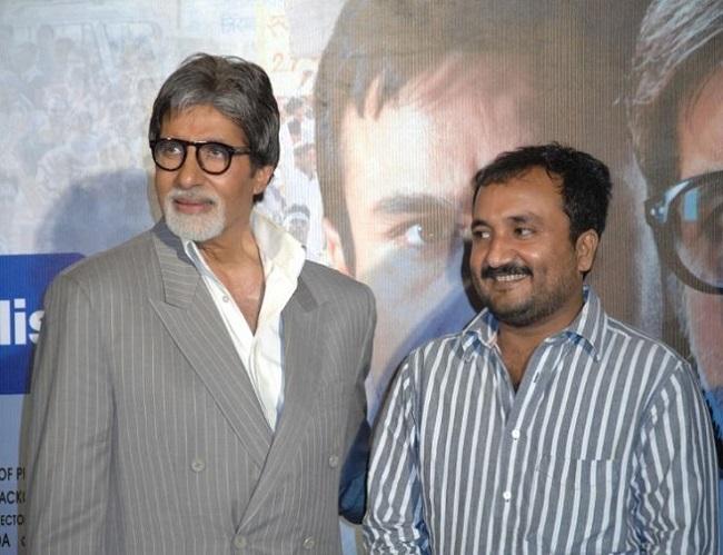 Anand Kumar with Amitabh Bachchan