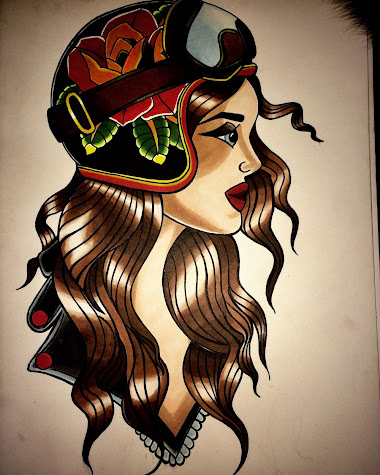 woman Tattoo design