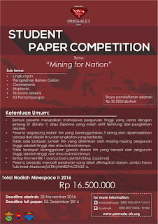 Student Paper Competition MINESPACE II