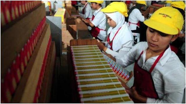 100 Pegawai Pabrik Sampoerna Surabaya Positif Corona, 500 Karyawan Lainnya Diliburkan