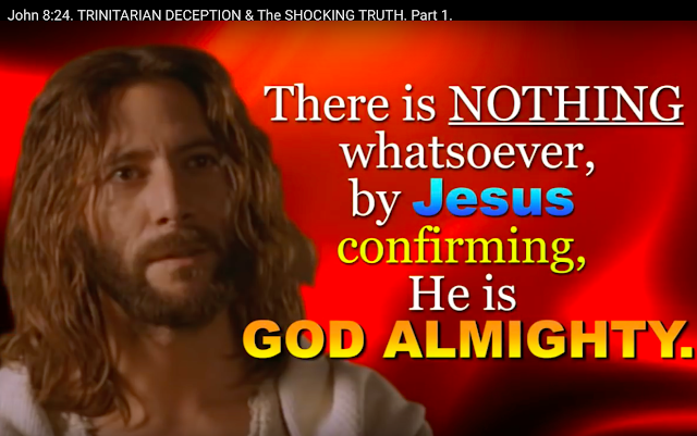 There is also NOTHING by Jesus saying He is GOD.