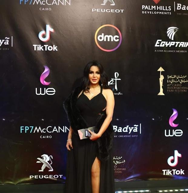 تعليقات محرجة لـ شيما الحاج بعد ظهورها في القاهرة السينمائي