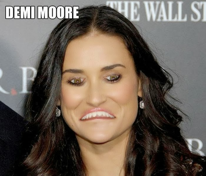 20 Hilarious Pictures of Celebrities with Inverted Mouths and Eyes