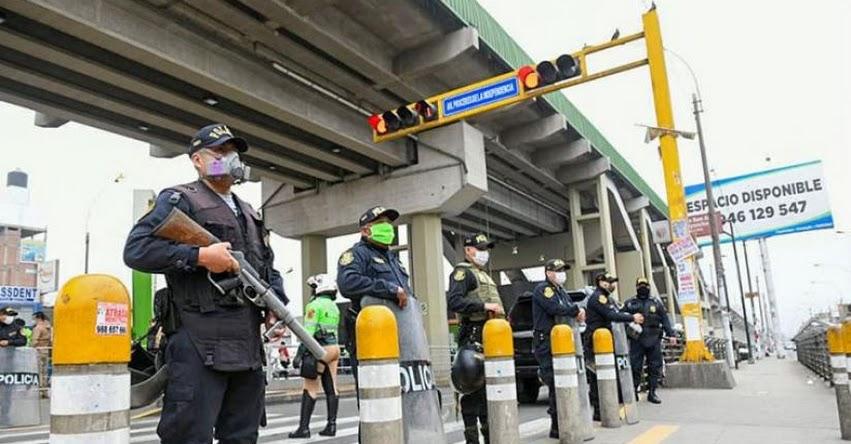 TOQUE DE QUEDA: Gobierno prorroga por 30 días el estado de emergencia nacional por el covid-19