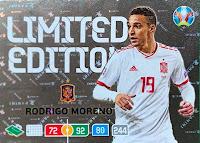 XL Panini Adrenalyn Euro 2020 Ricardo Rodriguez Schweiz Karte Limited Edition