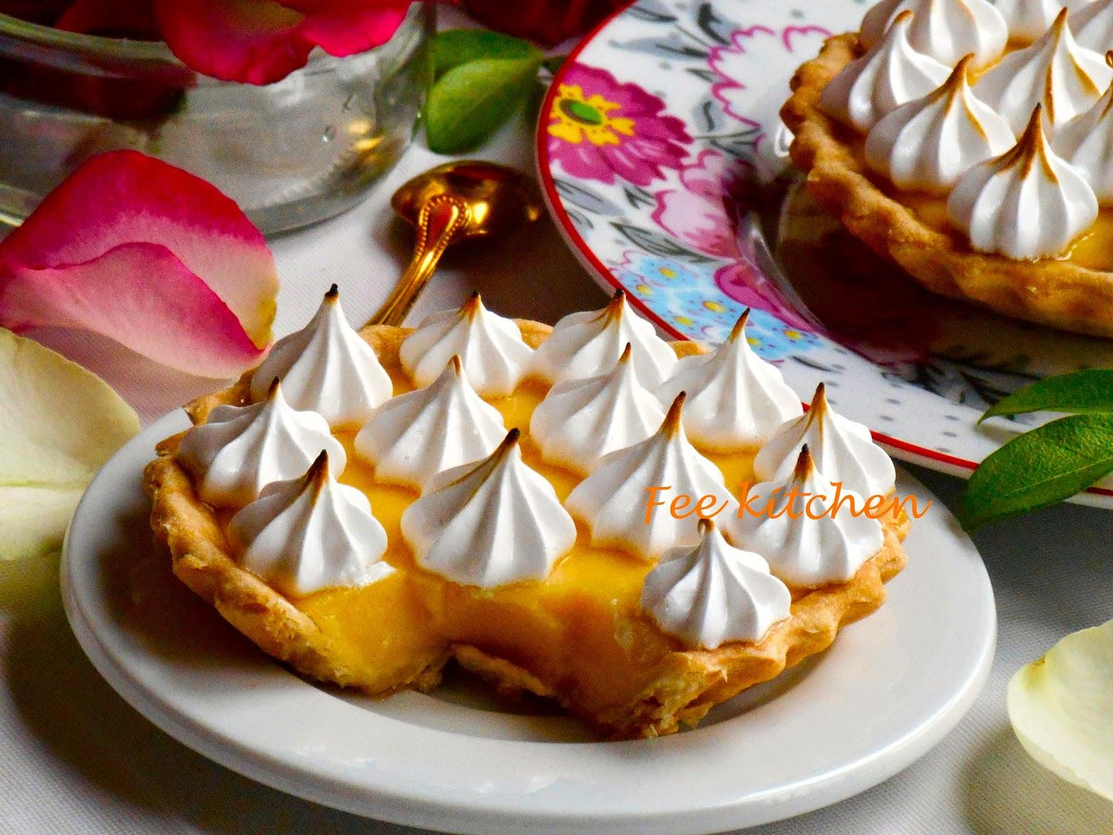 Tarte au citron meringue