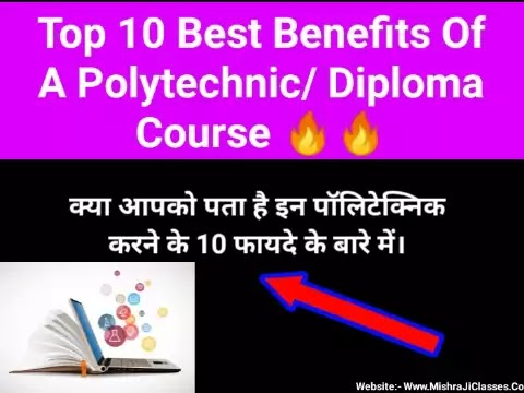 Top 10 benefits of a Polytechnic diploma course