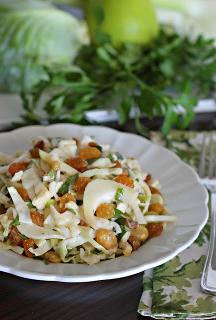 apple fennel slaw