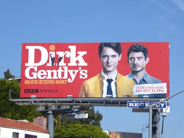 Dirk Gentlys Holistic Detective Agency series premiere billboard