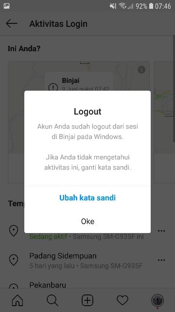 Cara Logout Akun Instagram Di HP Orang Lain - musdeoranje.net