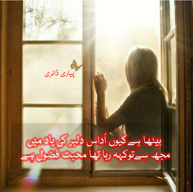 sad love alone girl shayari images pyari diary