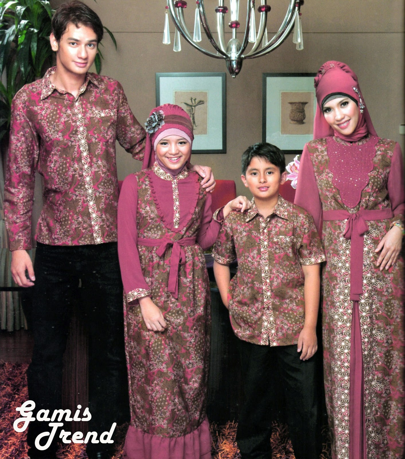 22 Model Baju Batik Muslim Anak Terbaru 2017 Info Terbaru