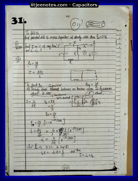 Capacitors notes cbse6