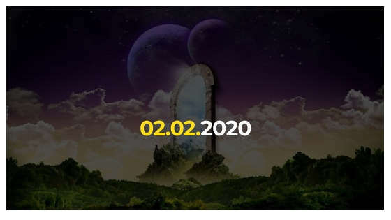 Второго февраля откроется уникальный космический портал 02.02. 2020, который появляется раз в тысячелетие