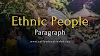 Short Paragraph on Ethnic People Updated in 2021 | EEB
