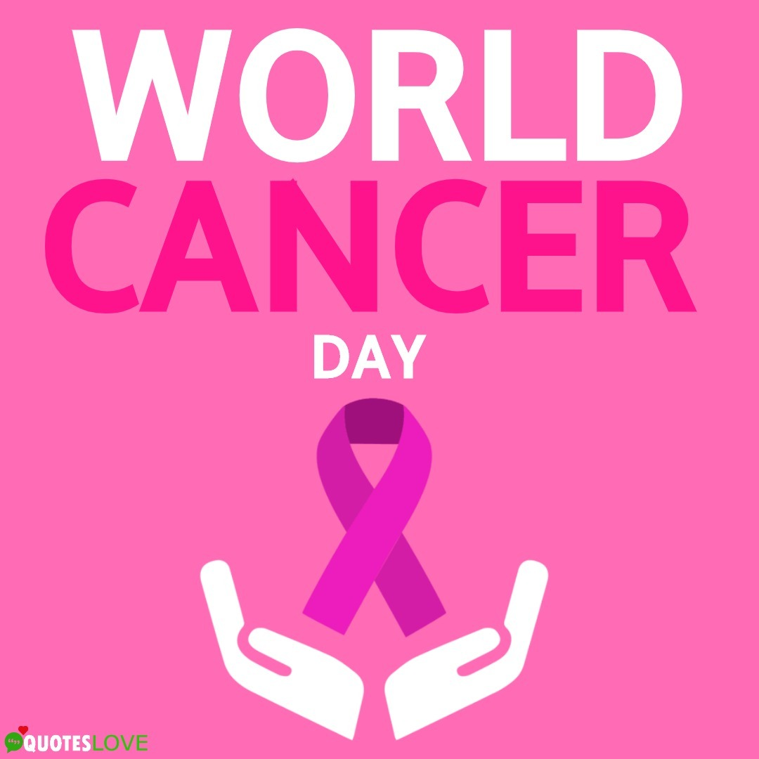 World Cancer Day Poster, Logo, Images, Wallpaper