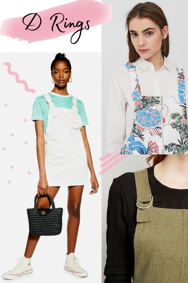 10 strap ideas for the Cleo dress - d rings