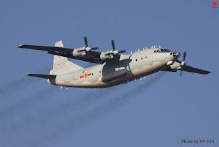 Pesawat Y-8 Militer China