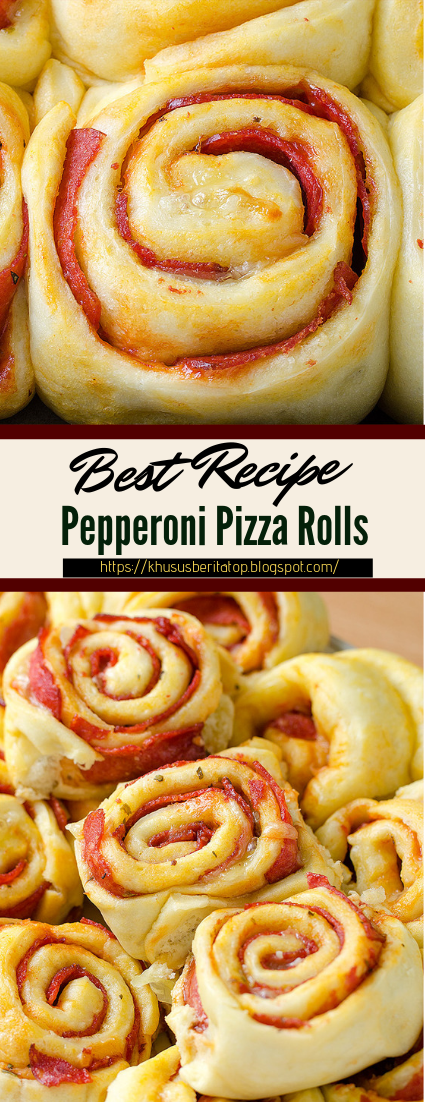 Pepperoni Pizza Rolls #healthyfood #dietketo #breakfast #food