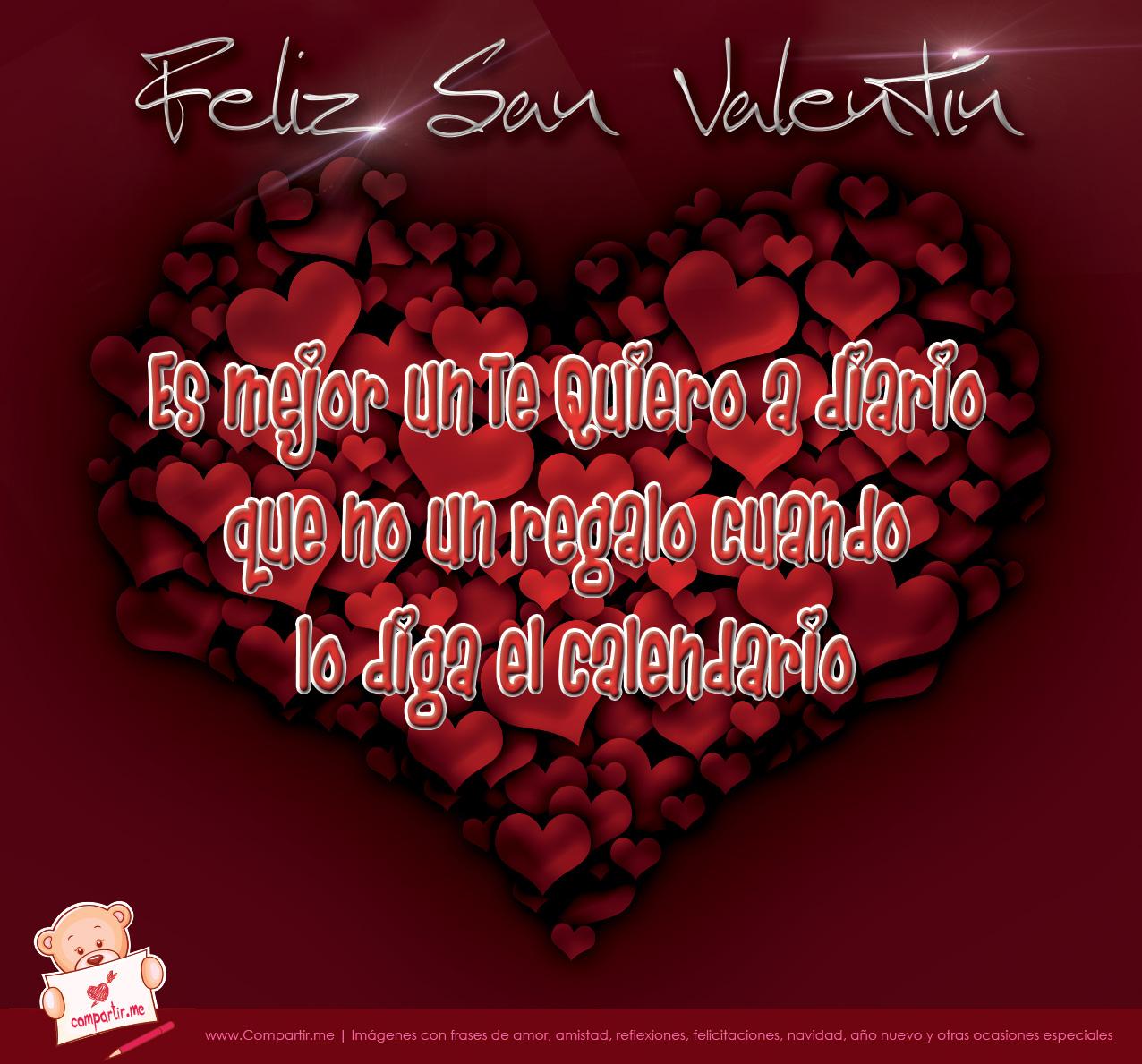 Frases por el da de San Valentin
