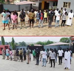 [New] EFCC Arrests 33 Suspected Internet Fraudsters in Osogbo