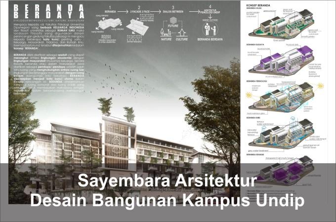 Desain Bangunan Kampus UNDIP