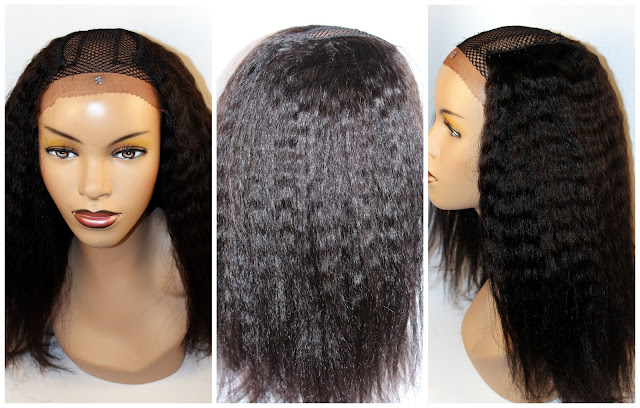 U-Part Wig with Lace and Ventilation - Part 2