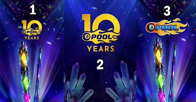 Wallpapers 10 Years of 8 Ball Pool