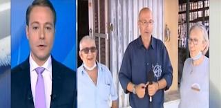 Ρεπόρτερ του ΣΚΑΪ δεν ξέρει ότι είναι on air και μιλάει για σωβρακοφανέλες