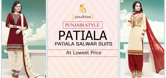 Fashionable Indian designer party wear embroidery punjabi patiala salwar kameez 2016 online at lowest price