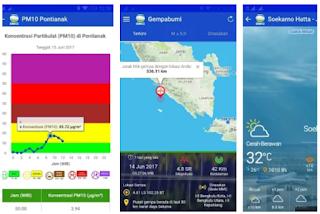 Aplikasi Pendeteksi Gempa dan Bencana Alam