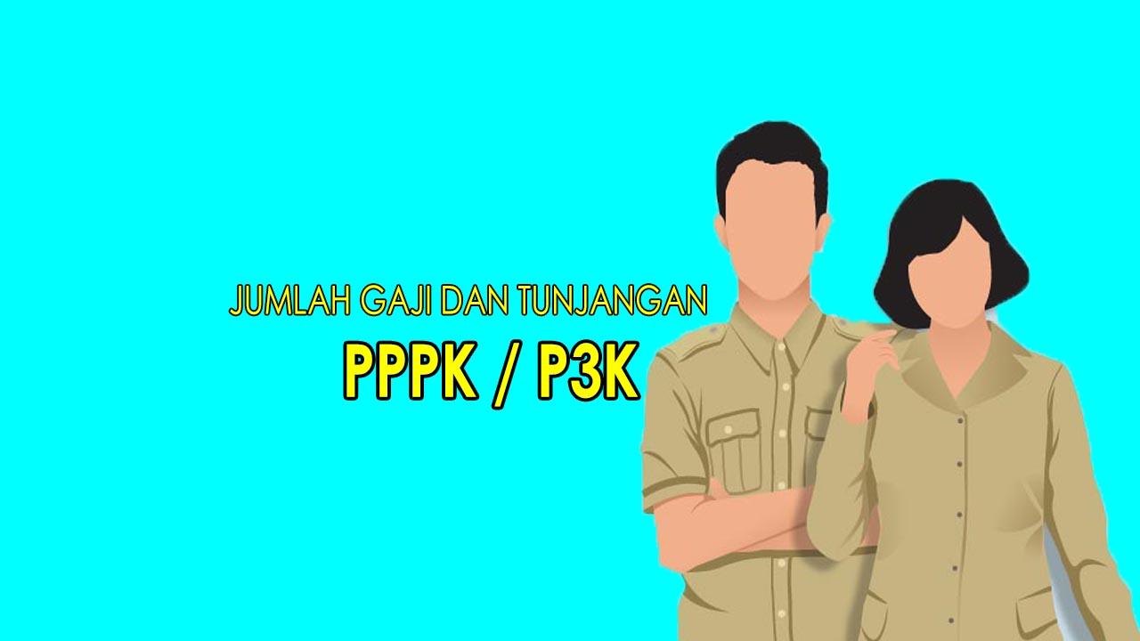 gaji pppk/p3k