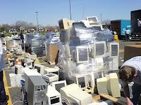 e-waste landfill