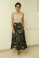 Taapsee Pannu in transparent top at Anando hma theatrical trailer launch ~  Exclusive 109.JPG