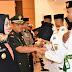 Danrem 142 Tatag Menghadiri Pengukuhan Paskibraka Tingkat Propinsi Sulbar
