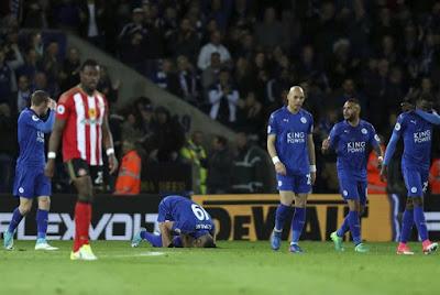 Leicester City Menang Lagi, Islam Slimani Sujud Syukur