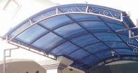Kanopi lengkung Umbul Harjo