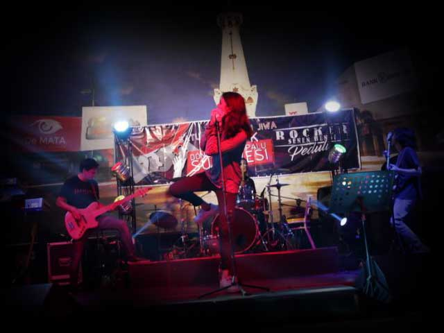 Konser Rocker Peduli Gempa Palu dan Donggala Sulawesi