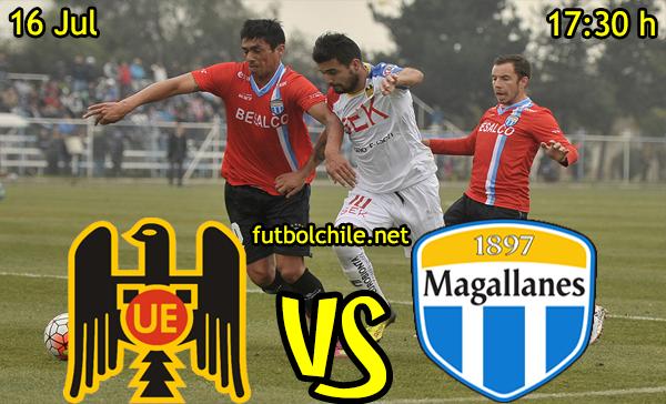 VER STREAM YOUTUBE RESULTADO EN VIVO, ONLINE: Unión Española vs Magallanes