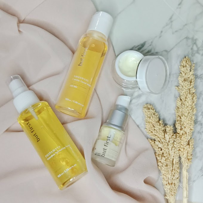 Review Skincare Lokal But First | Haloanisa.com