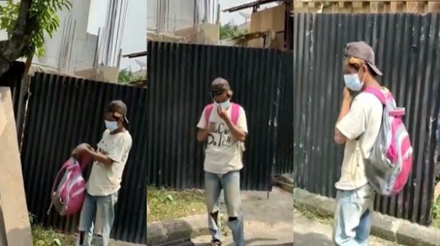 Kuli Bangunan Dipecat Gegara Masker, Pengusaha Bikin Sayembara, Yang Nemu Diupah Rp1 Juta