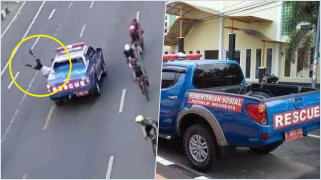 Mobil Rescue Dinsos Tabrak Lari Pesepeda, Walkot Makassar Upayakan Damai