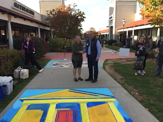 Franklin Rotary sidewalk chalk challenge a success
