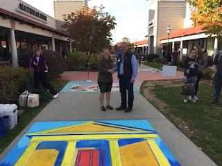 Franklin Rotary sidewalk chalk challenge a success