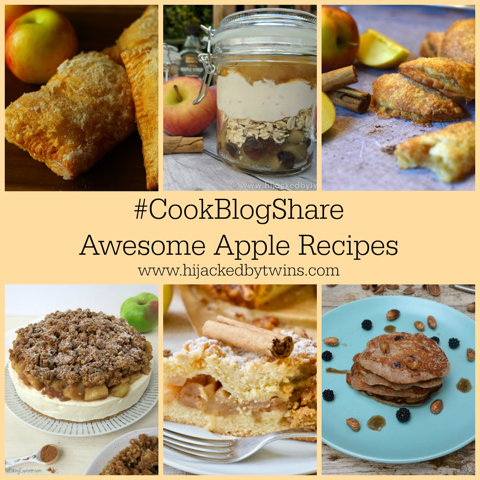 Hijacked by twins cookblogshare linky week 38 plus awesome apple check out these awesome apple recipes forumfinder Image collections