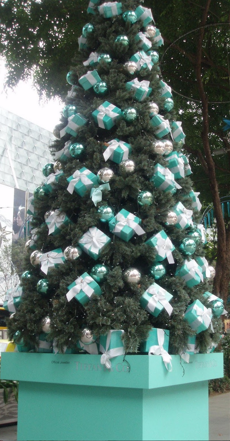 Tiffany Christmas Tree Singapore
