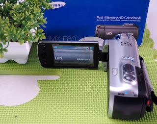 Handycam Samsung HMX-F80 Bekas