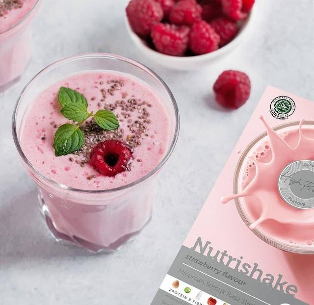 Nutrishake membantu penurunan berat badan dengan cara yang sehat!