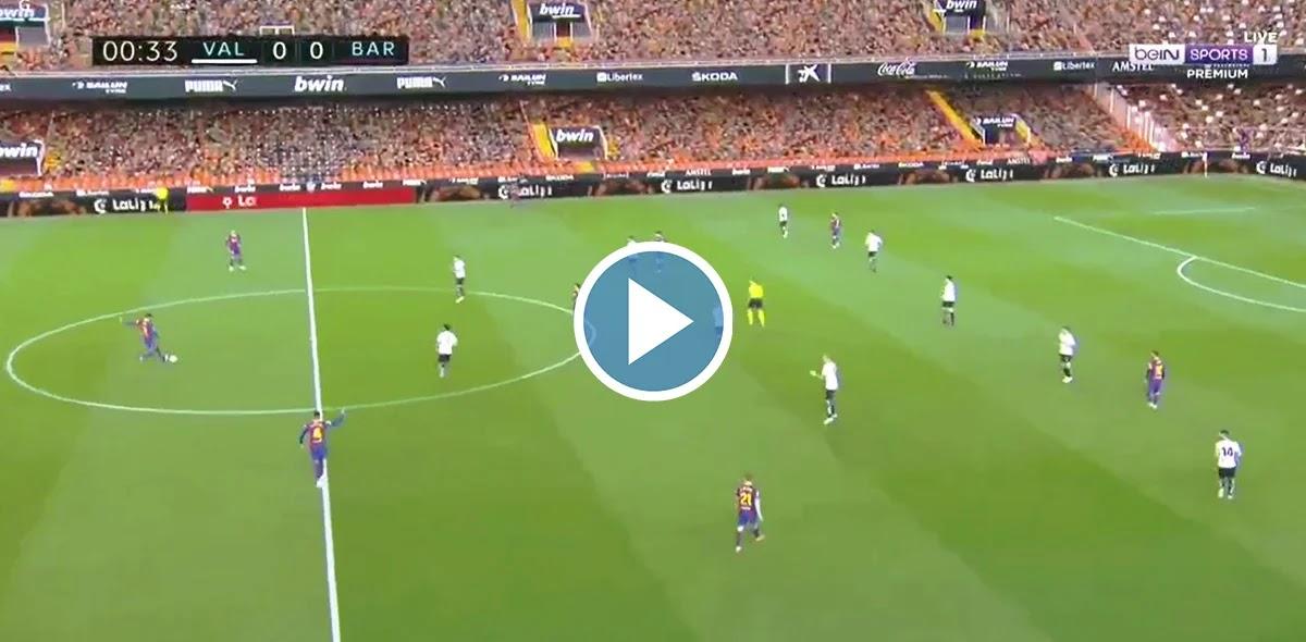 Valencia vs Barcelona Live Score