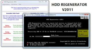 برنامج معالجة الهارد ديسك HDD Regenerator | الأفضل لمعالجة الباد سيكتور وصيانة الهارد ديسك